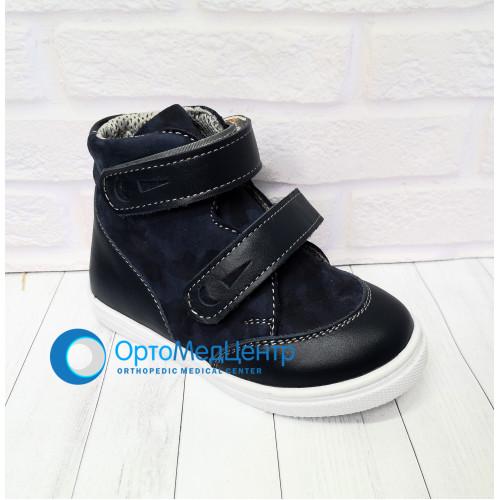 Ортопедичні черевики на двох липучках Kodo 749, Україна