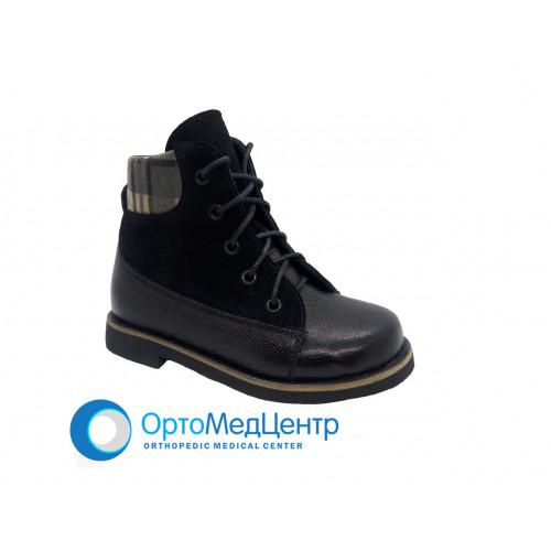 Ортопедичні черевики на  шнурках  Kodo 717, Україна