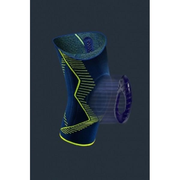 Бандаж для колінного суглоба з силіконовим кільцем для надколінка Genumedi Emotion, Німеччина