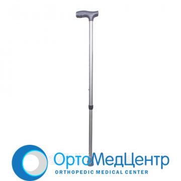 Палиця алюмінієва регульована за висотою з пристроєм проти ковзання MEDOK 01-012