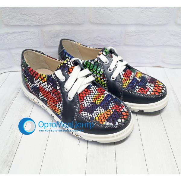 Дитячі ортопедичні кроссівки на липучках Kodo 628, Україна