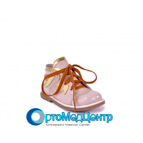 Ортопедичні туфлі для дівчинки Kodo 609, Україна