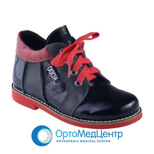 Ортопедичні черевики на шнурках Kodo 707, Україна