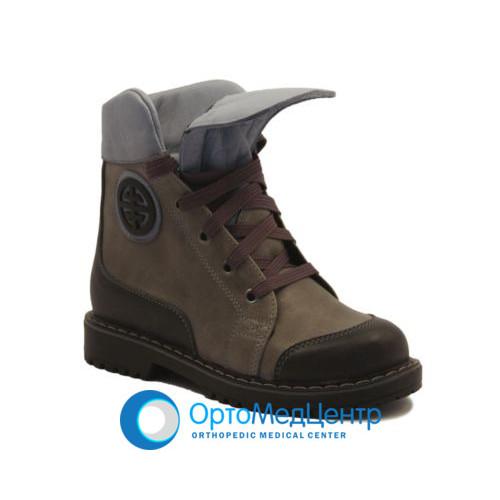 Ортопедичні черевики на шнурках Kodo 714, Україна