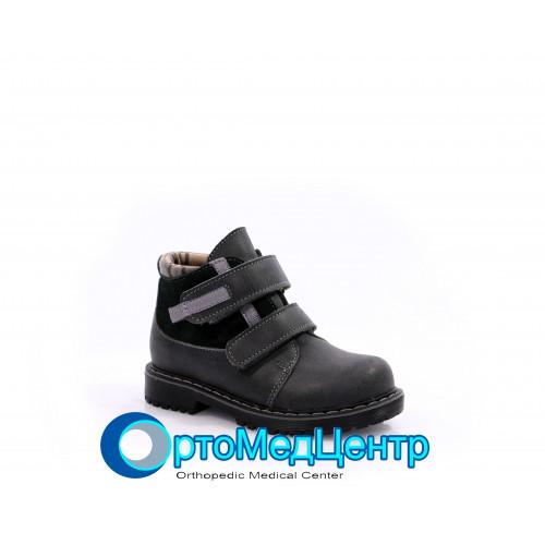 Ортопедичні черевики на двох липучках Kodo 722, Україна