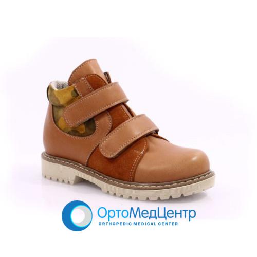 Ортопедичні черевики на двох липучках Kodo 724, Україна