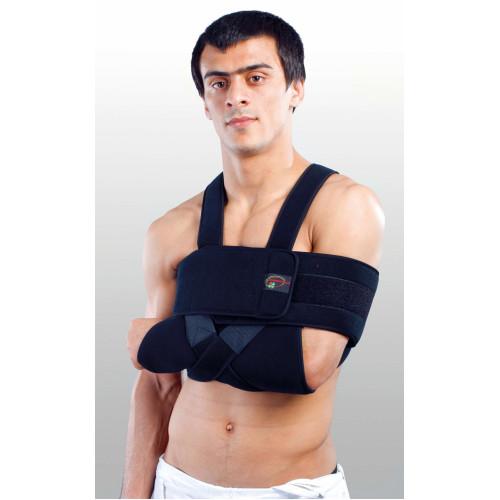 Бандаж для плеча та передпліччя сильної фіксації (пов'язка Дезо) Реабілітімед РП-6К-М1, Україна