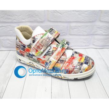 Дитячі ортопедичні кроссівки на липучках Kodo 610, Україна