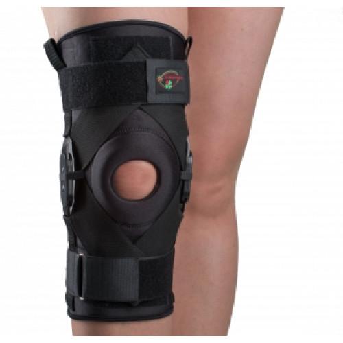 Бандаж з поліцентричної анатомічними шарнірами для сильної фіксації колінного суглоба Реабілітімед К-1ПШ, Україна