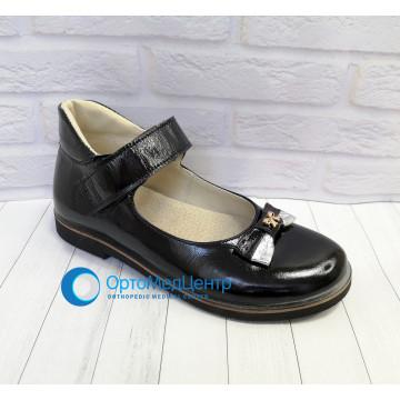 Дитячі ортопедичні туфлі на ліпучці для дівчинки Kodo 601