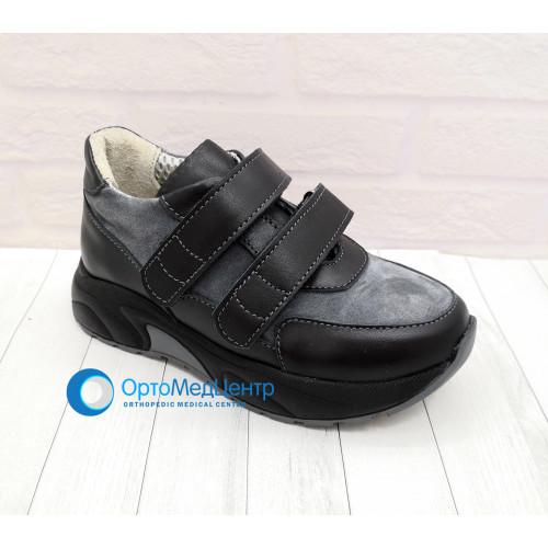 Дитячі ортопедичні кроссівки на липучках Kodo 783, Україна