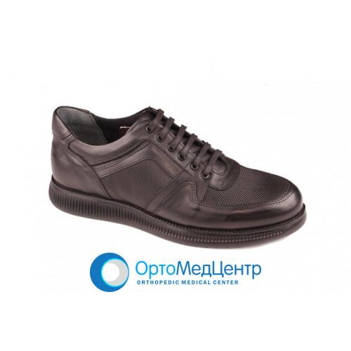 Шкіряні чоловічі туфлі Pandew