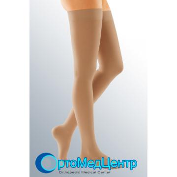 Компресійні панчохи з силіконовою резинкою 1 кл. компресії Medi Duomed (закр.носок), Німеччина