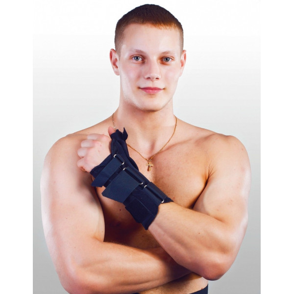 Ортез для фіксації променезап'ясткового суглобу і великого пальця Реабілітімед ТУТОР-6КВ*, Україна