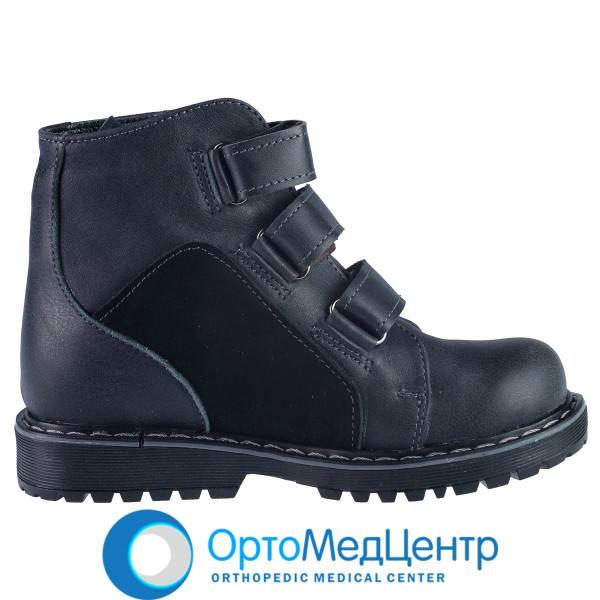Ортопедичні черевики на  трьох липучках Kodo 704, Україна