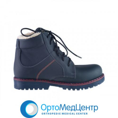 Зимові отопедичні черевики на шнурках Kodo 901, Україна