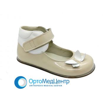 Дитячі ортопедичні туфлі на ліпучці Kodo 606, Україна