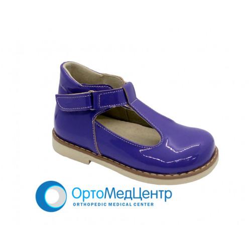 Дитячі ортопедичні туфлі для дівчинки Kodo 602, Україна