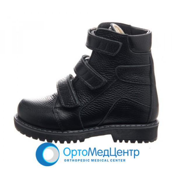 Ортопедичні черевики на  трьох липучках Kodo 705, Україна